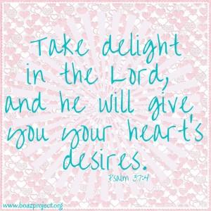 psalm 37-4 valentinesy