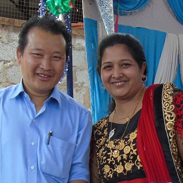 Pastor Tonglen and Glory Diana