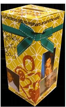 Orphan Gift Bank Box