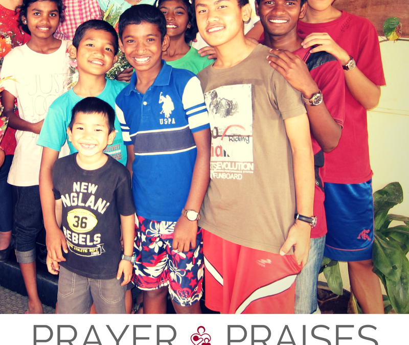 Oct. Prayer Requests and Praises