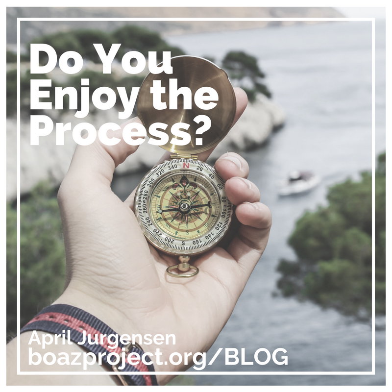 Do You Enjoy the Process? Email Graphic