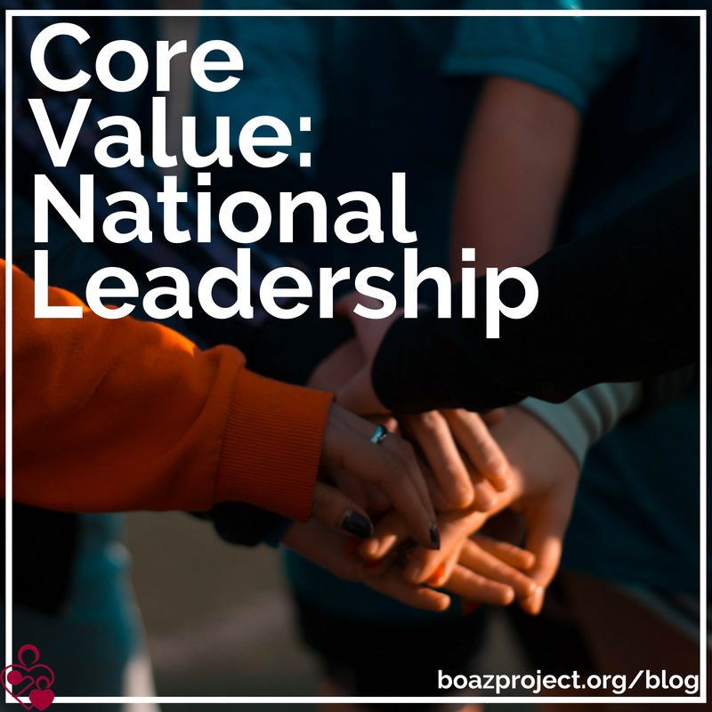 Core Value_ National Leadership Graphic
