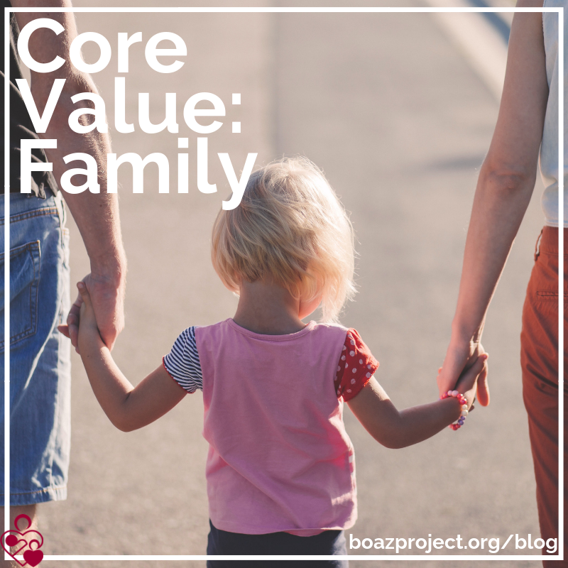 Boaz Core Value - Famiy