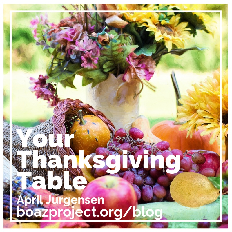 Your Thanksgiving Table graphic