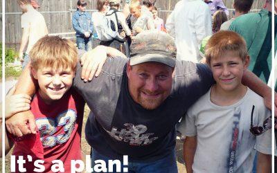 It's a plan!