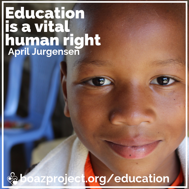 Education is a vital human right