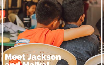 Meet Jackson and Maikal