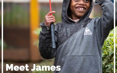 Meet James from Kenya
