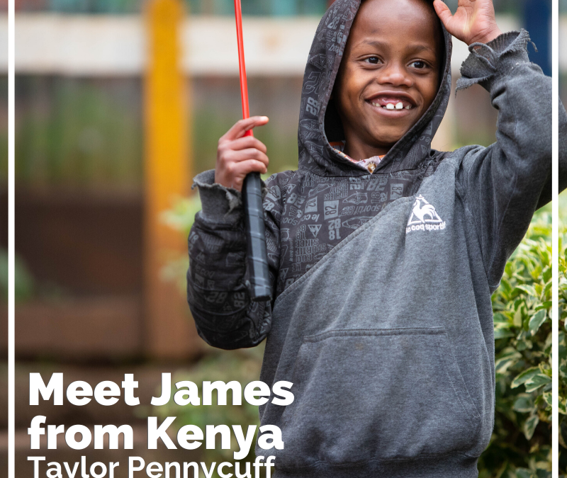 Meet James from Kenya