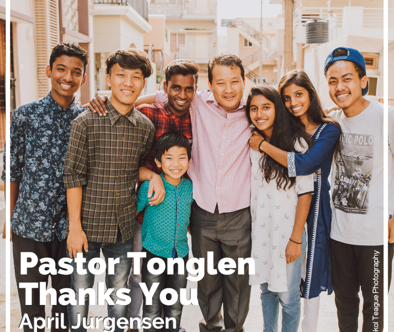 Pastor Tonglen Thanks You