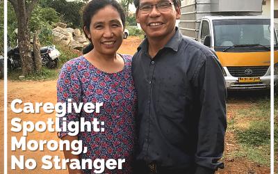 Caregiver Spotlight: Morong, No Stranger to Hardship